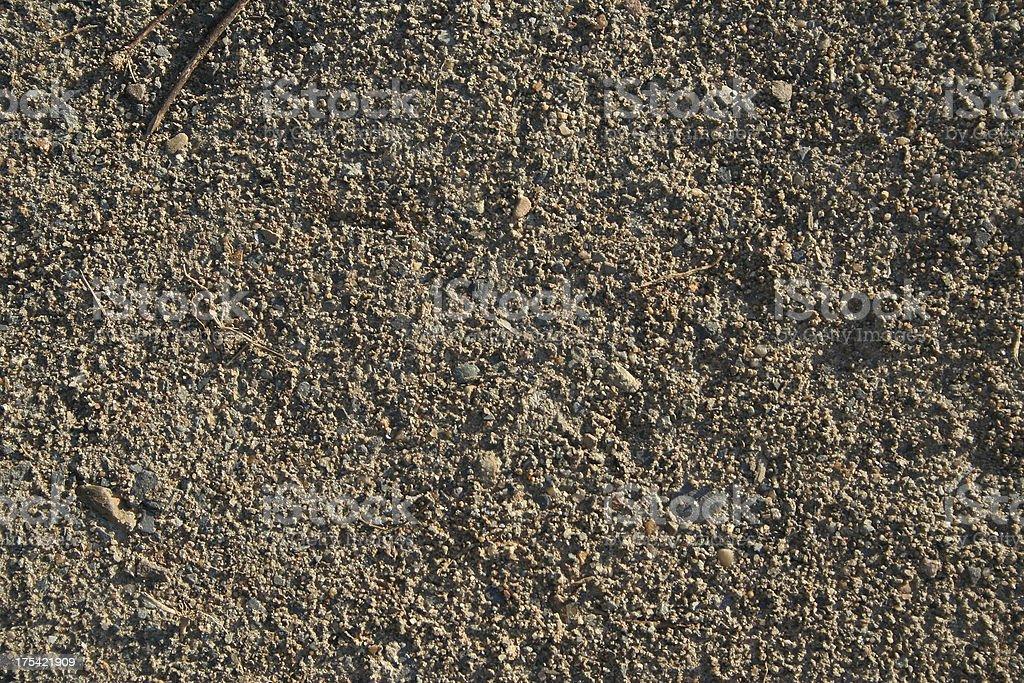 Texture - Coarse Dirt royalty-free stock photo