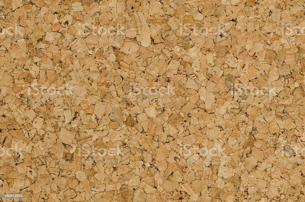 Texture  Color Detail  of Surface Cork Board Wood  Background royalty-free stock photo