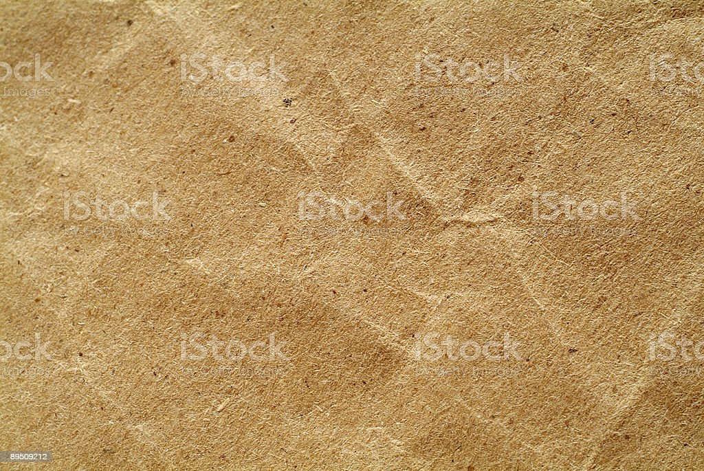 texture – crumpled brown paper royalty-free stock photo