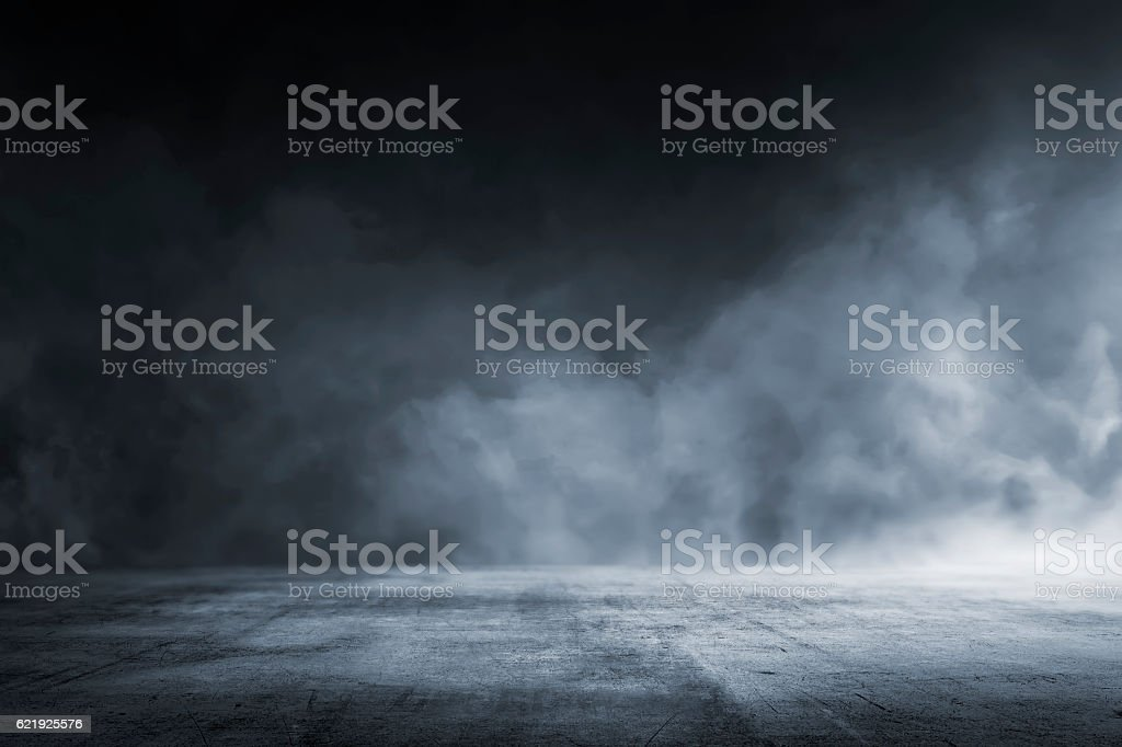 Texture dark concrete floor - foto stock