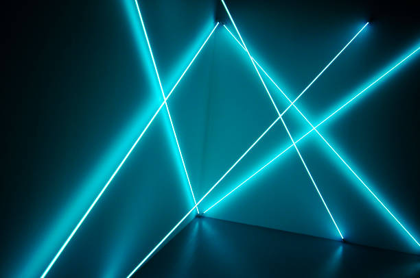 texture effets de rayons de lumière - fluorescent light stock pictures, royalty-free photos & images