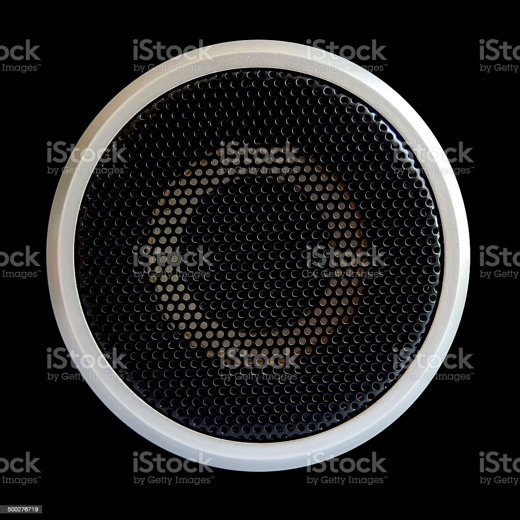 texture from acoustic woofer stock photo