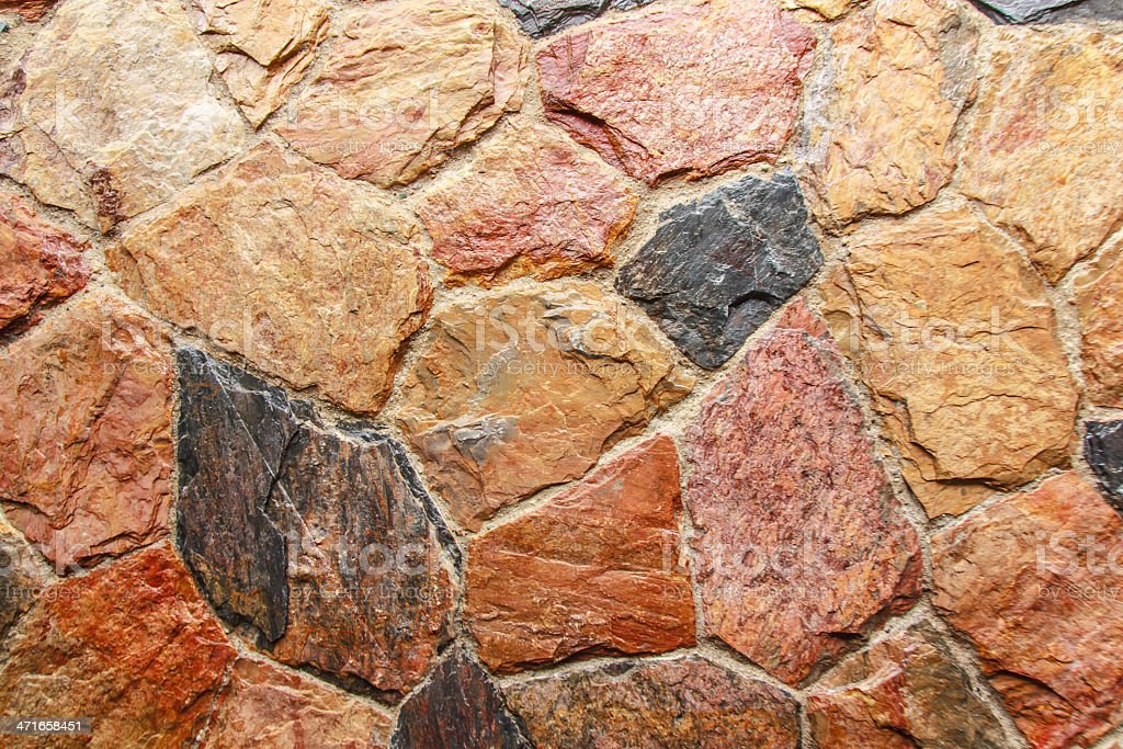 Texture from stone wall royalty-free stock photo