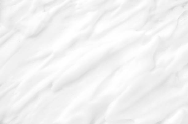 texture gentle white cosmetic cream. - shaving cream stock pictures, royalty-free photos & images