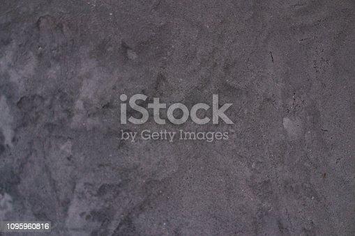 istock Texture grey concrete background. vintage style 1095960816