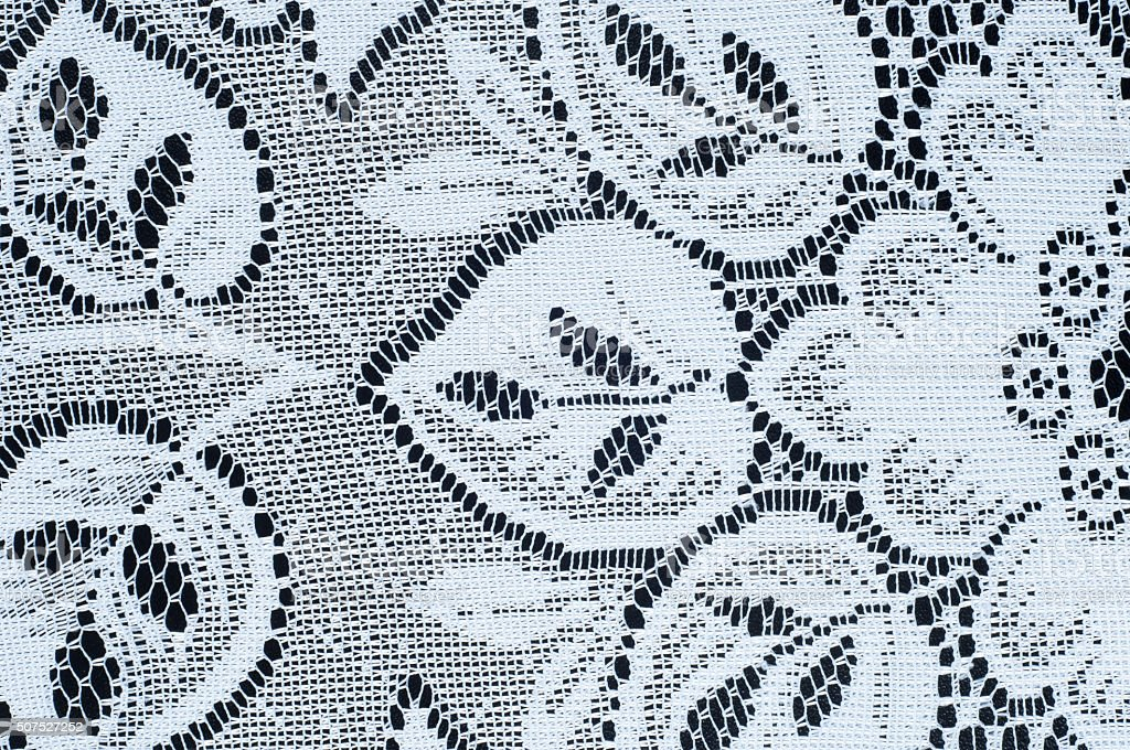 Texture lace fabric. stock photo