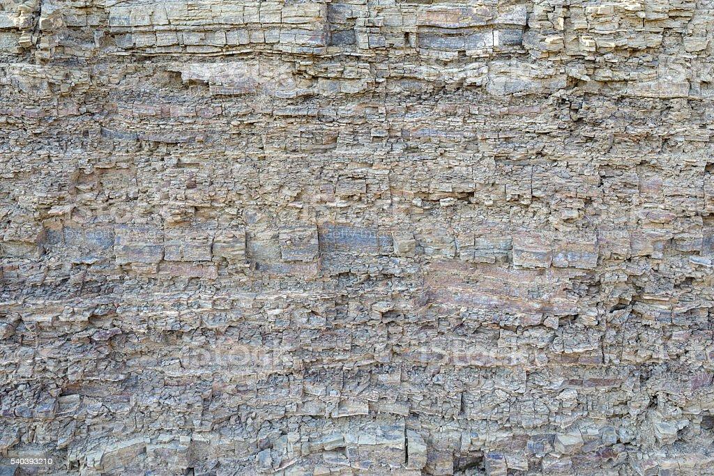 texture layers metamorphic rocks stock photo