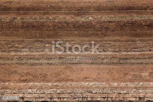 texture layers of earth