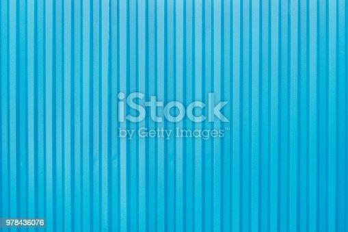 607593268istockphoto Texture metal corrugated sheet 978436076