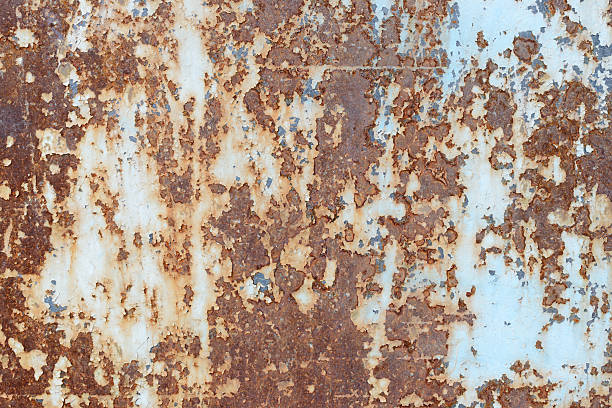 texture. metal - rusty stock photos and pictures