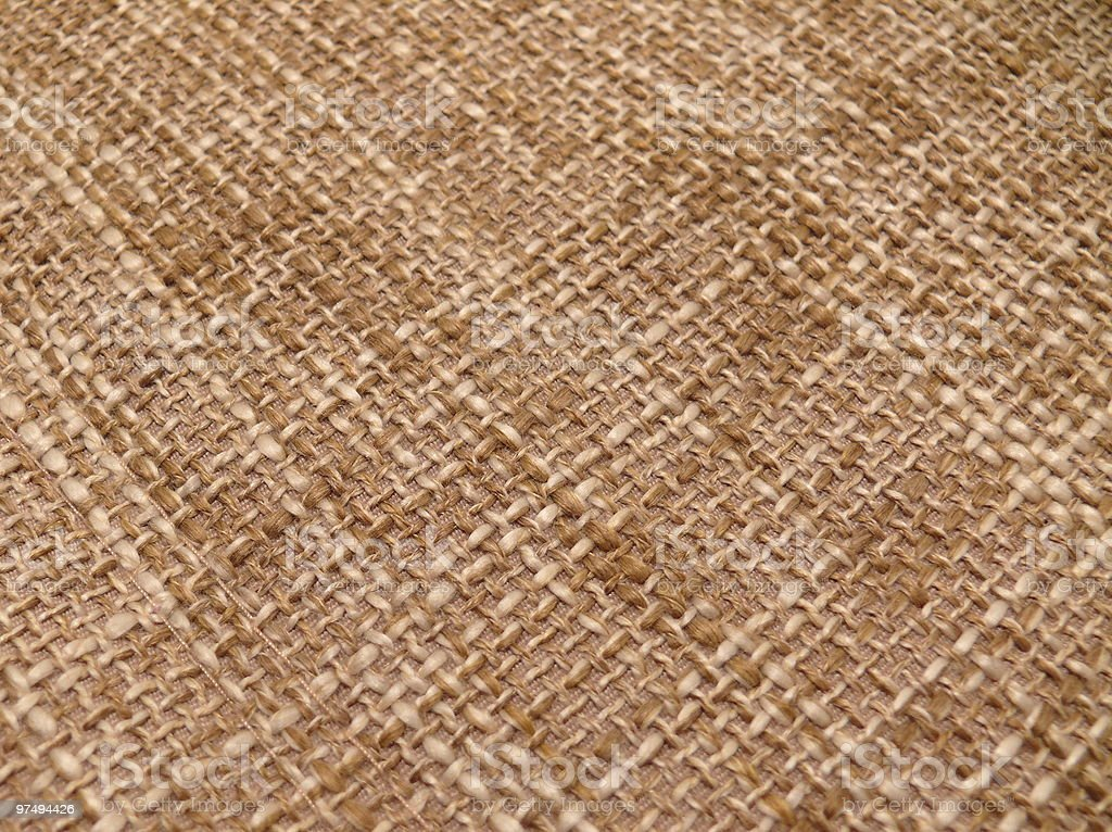 texture of a burlap cloth royalty-free stock photo