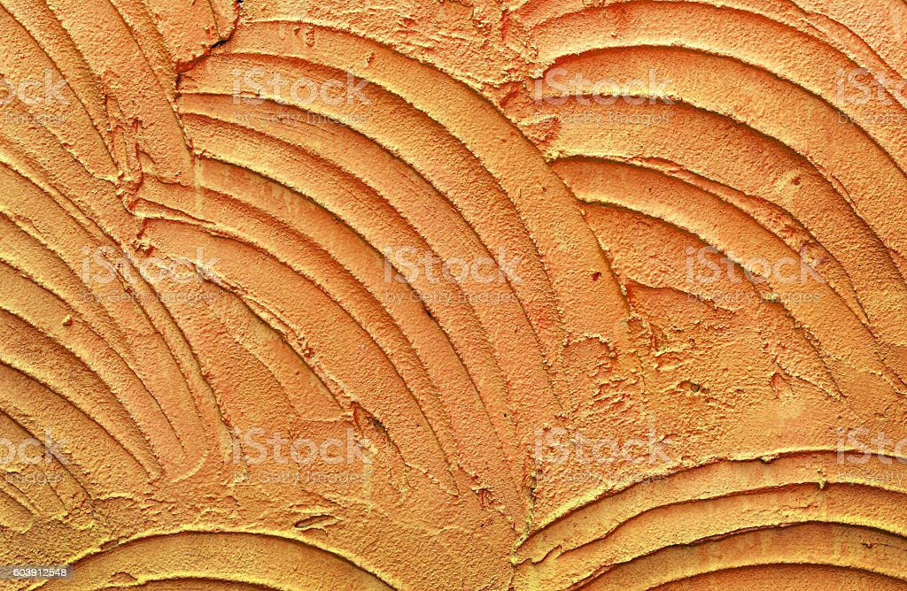 texture of a orange cement as a background stock photo