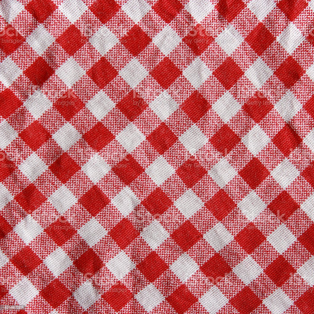 9ac40c45057 Texture Of A Red And White Checkered Picnic Blanket Stock Photo ...