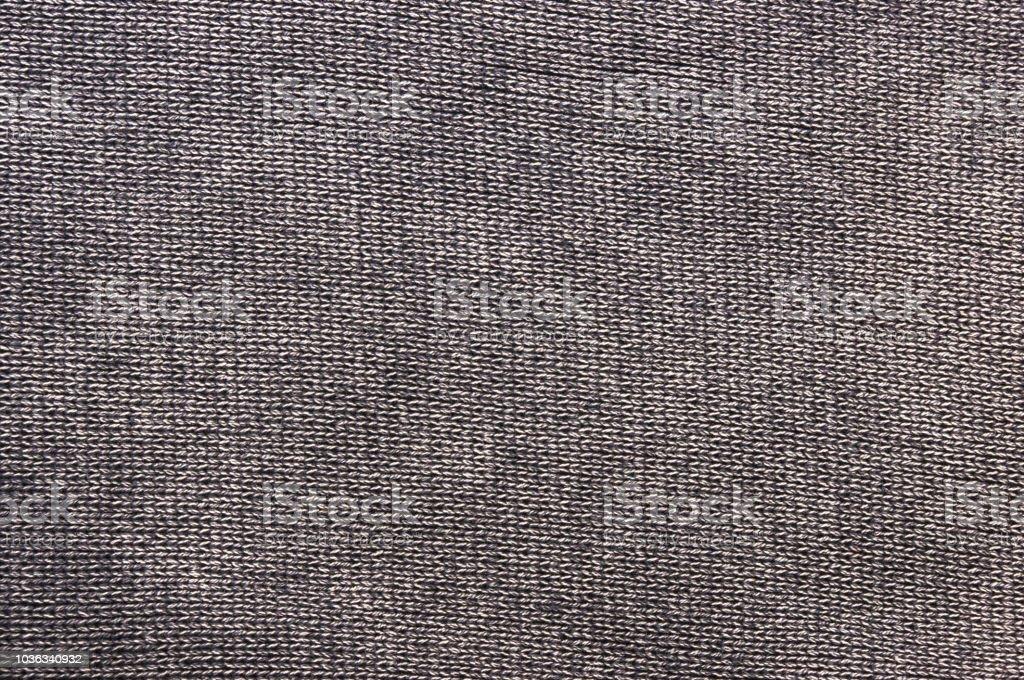 textura de um tecido de malha grossa lavada - foto de acervo