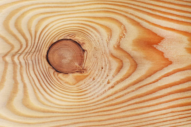 Texture of a wooden board, background stock photo