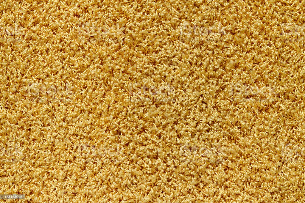 texture of a yellow  carpet stock photo