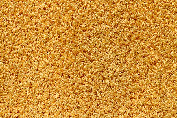 Textur des gelben Teppich – Foto