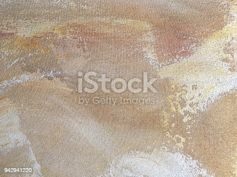istock Texture of abstract art background beige colors. 942941220
