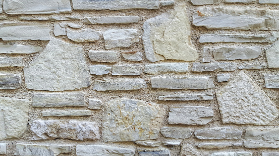 Old castle stone wall texture background