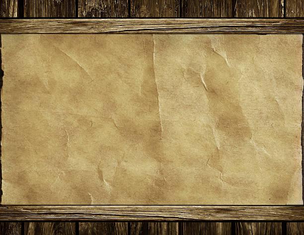 Textur von einer alten Papier-frame – Foto