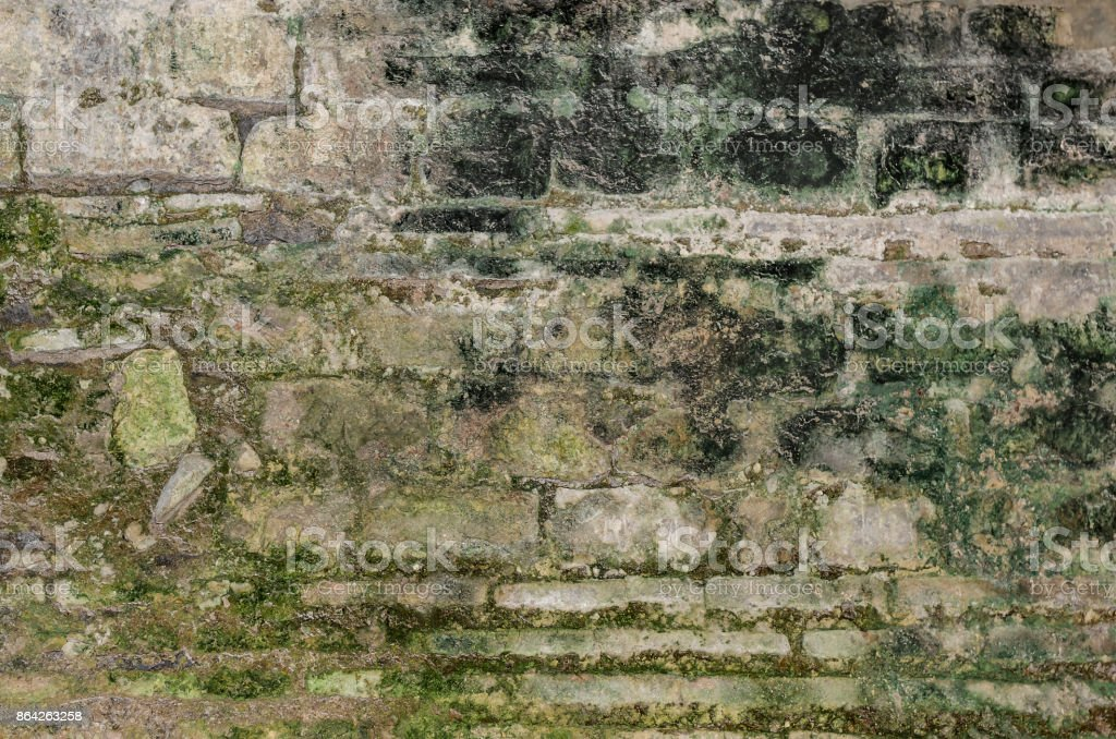 Texture of an old wall. royalty-free stock photo