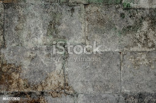 Texture Of An Old Wall Stock Photo & More Pictures of Abstract