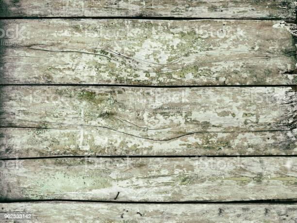Foto de Textura De Um Velho Muro De Madeira Plano De Fundo e mais fotos de stock de Abstrato