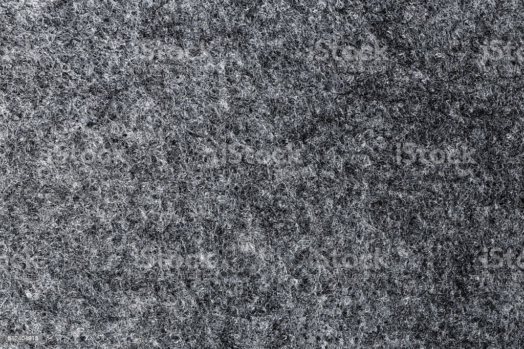 Texture of artificial grey felt stock photo