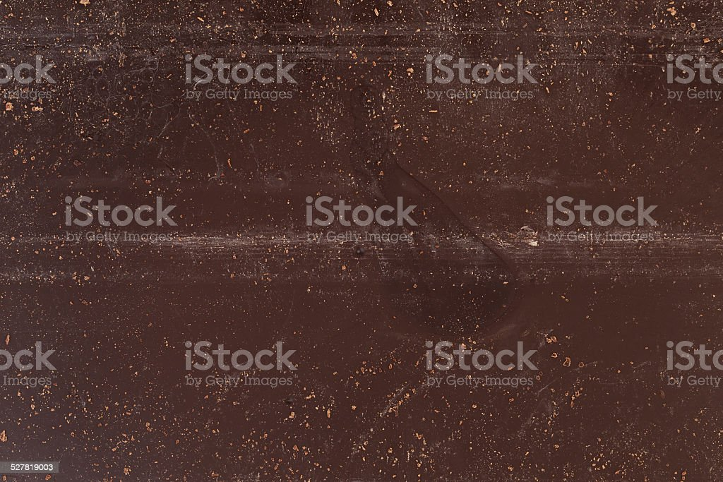texture of back of chocolate bar stock photo