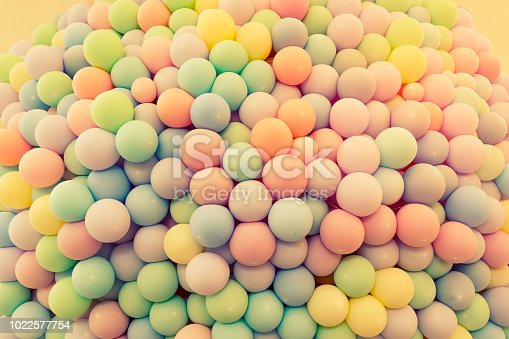 945748362 istock photo Texture of balloons as wall background 1022577754