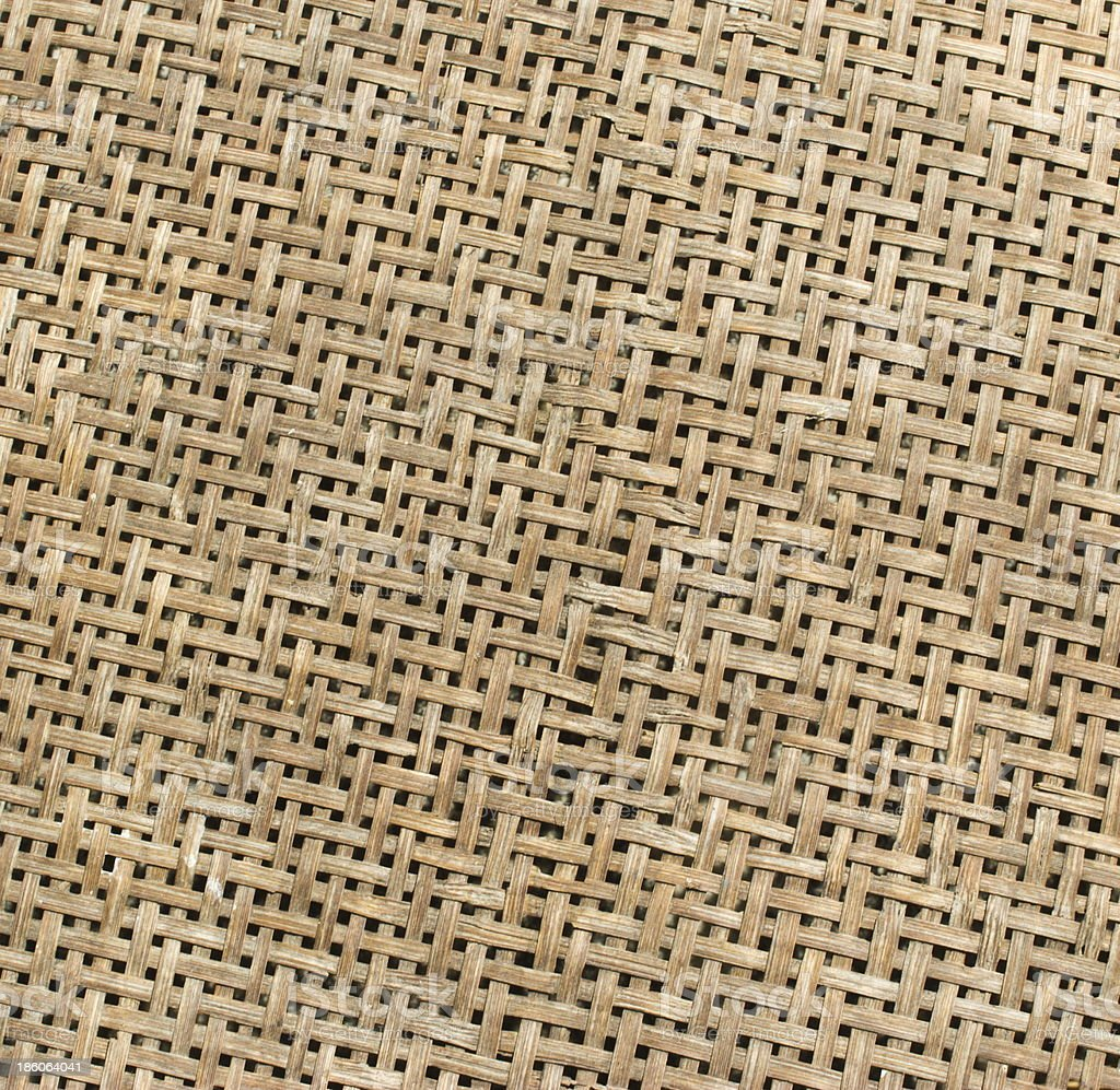 texture of bamboo weave, can be used for background royalty-free stock photo