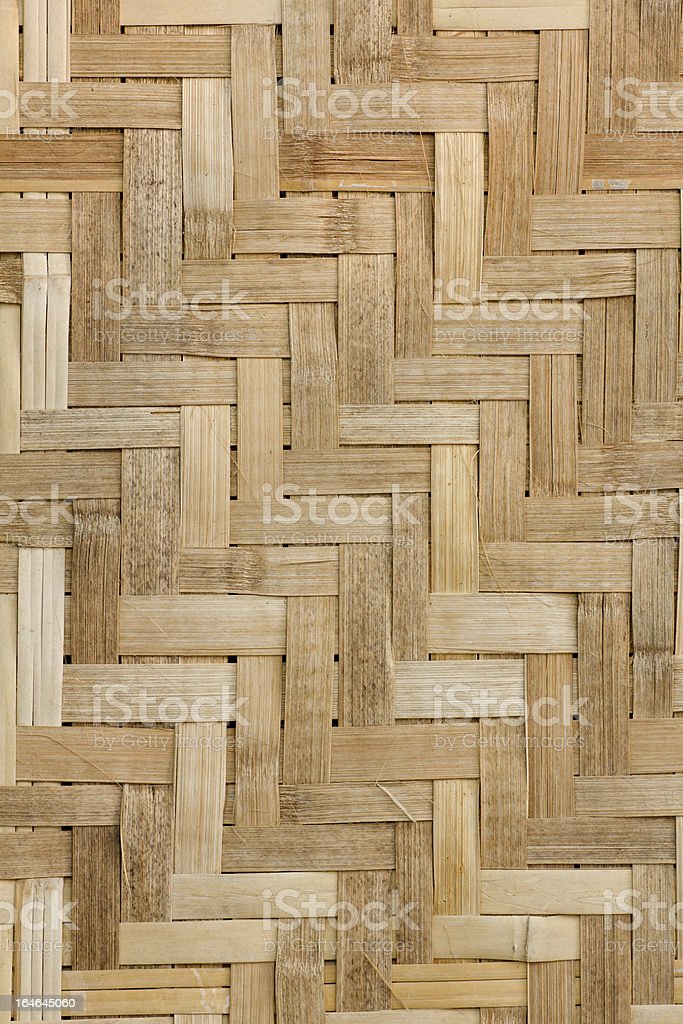 Texture of natural bamboo Weave