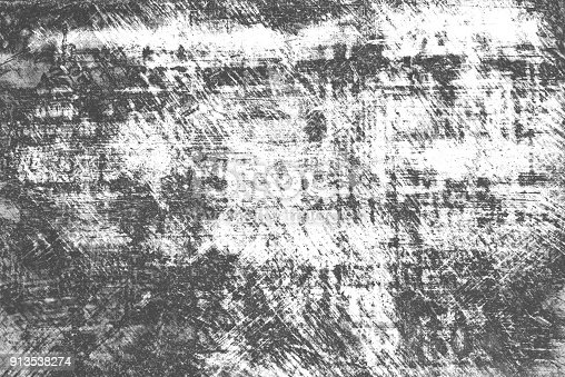 913538278istockphoto Texture of black and white lines, scratches, scuffs 913538274