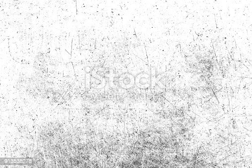istock Texture of black and white lines, scratches, scuffs 913538278