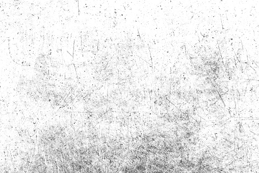 Grunge dust and scratched background texture. Texture of black and white lines, scratches, scuffs. Urban style of the old surface with scratches.