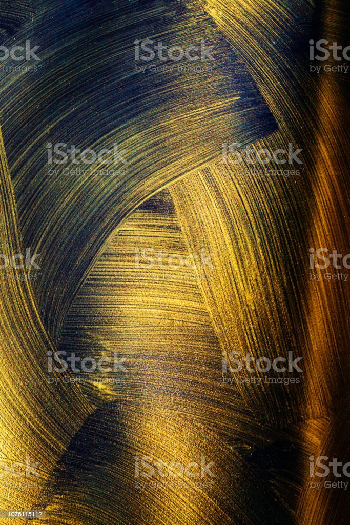 Texture Of Black Gold Abstract Seamless Texture Fractal Art