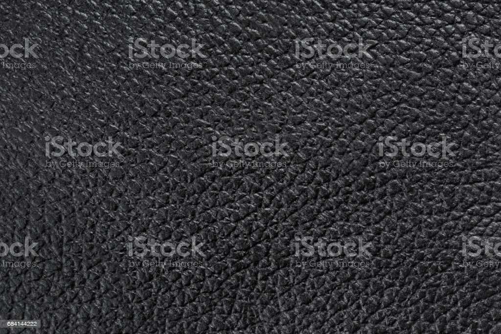 texture of  black leather photo libre de droits