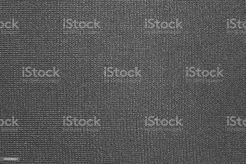 texture de tissu en nylon noir - Photo