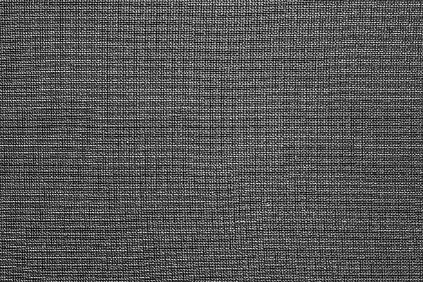 texture of black nylon fabric - nylon texture stock pictures, royalty-free photos & images