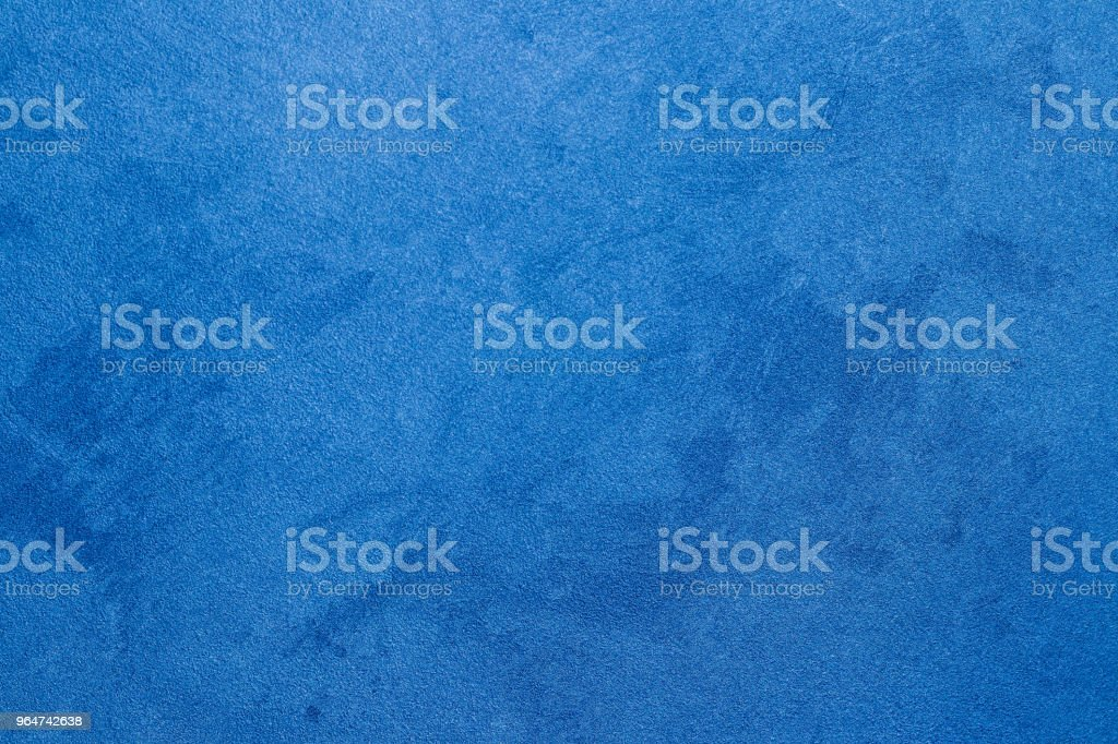 Texture of blue decorative plaster. royalty-free stock photo