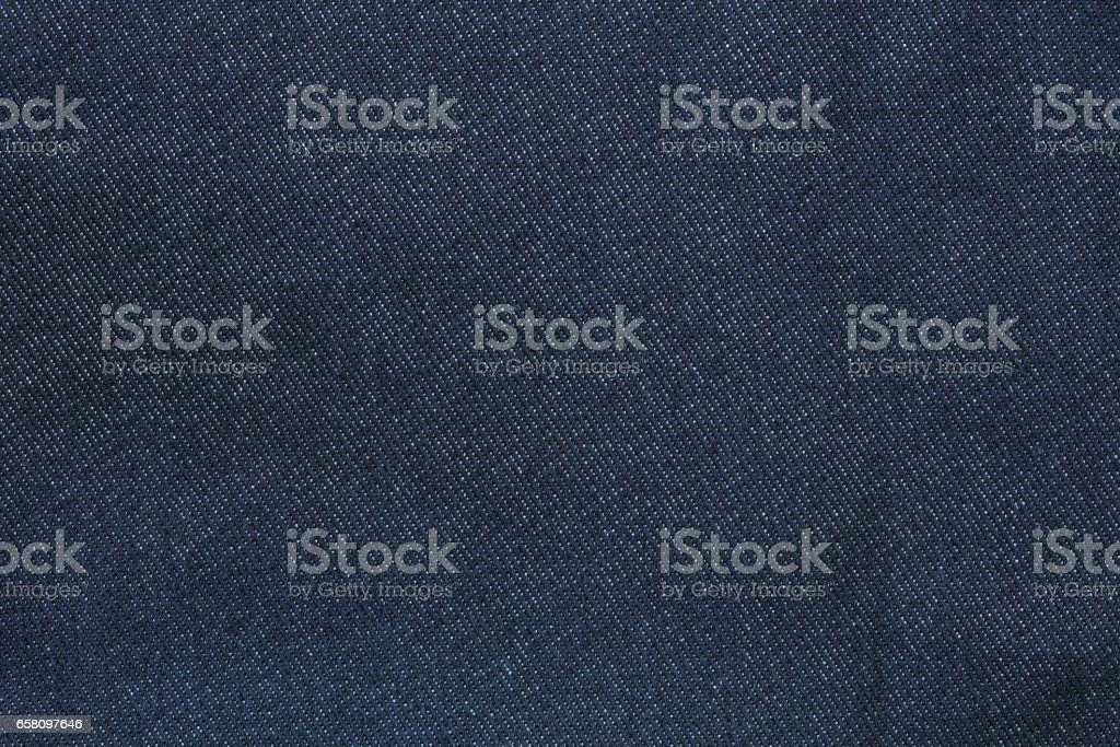 Texture of blue jeans background stock photo