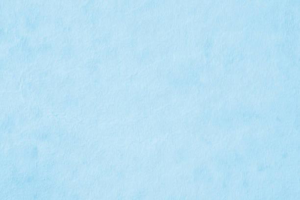 青い紙のテクスチャ ストックフォト