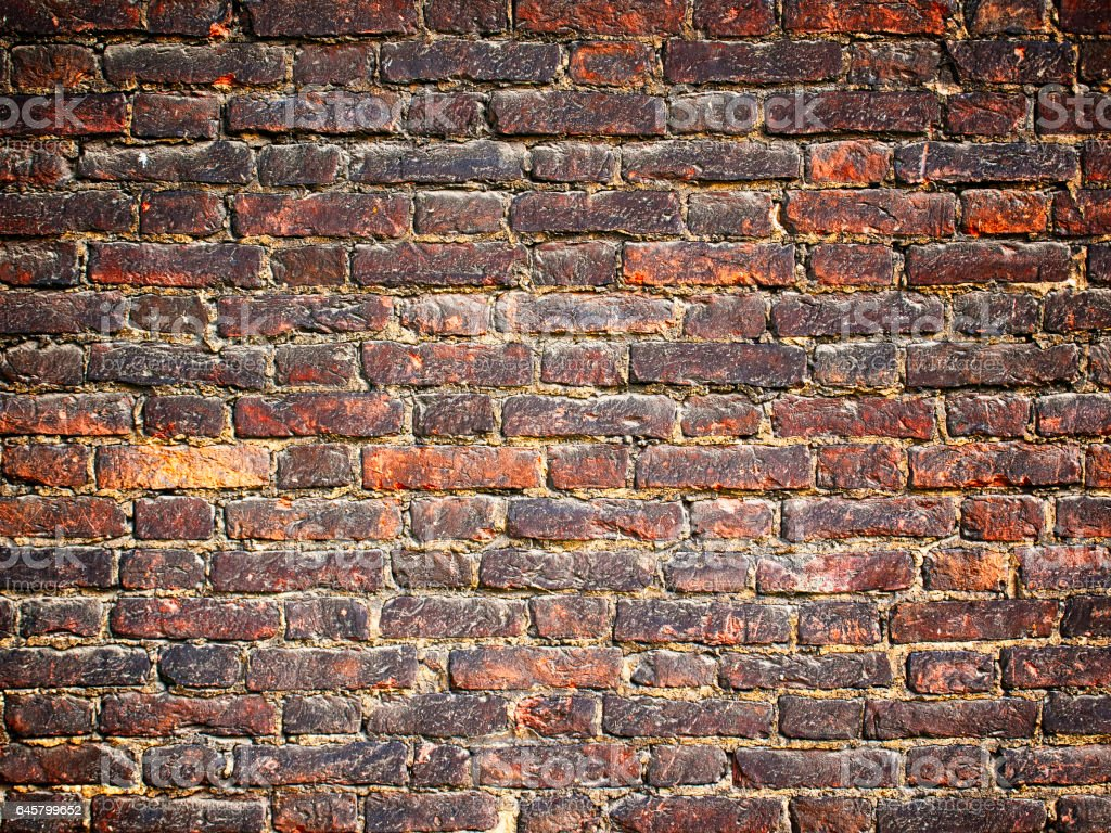 texture of  brick walls background, grunge surface with  vintage effect stock photo