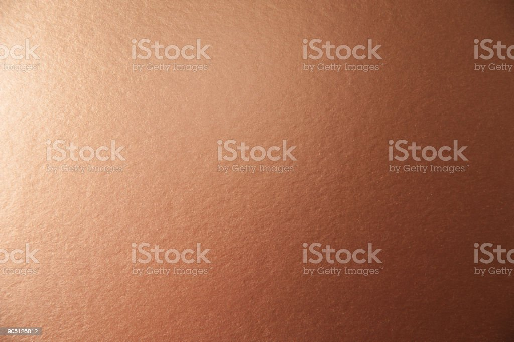 Texture of brown metallic paper background for design Christmas or New Year's party cards stock photo