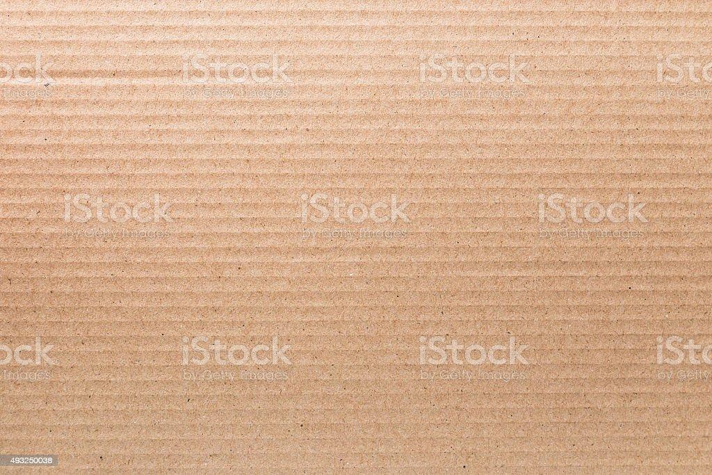 Texture of cardboard stock photo