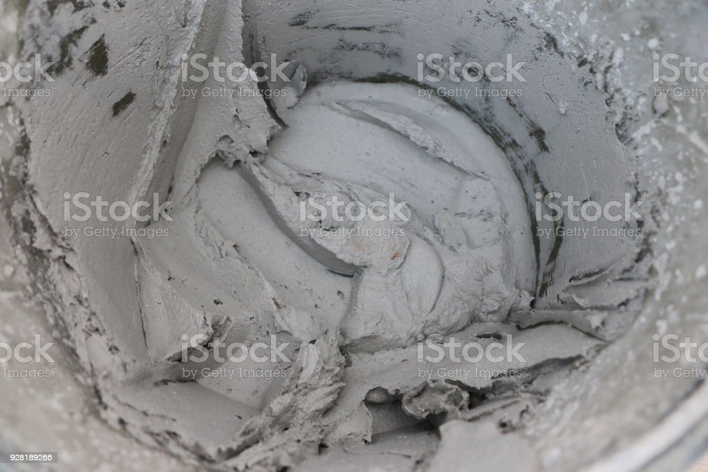 texture of cement mortar for plastering walls - repair, construction, interior decoration. stock photo
