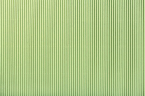 Texture Of Corrugated Light Green Paper Macro - zdjęcia stockowe i więcej obrazów Bez ludzi