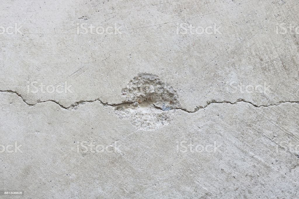 Texture of crack concrete wall, abstract background. stock photo