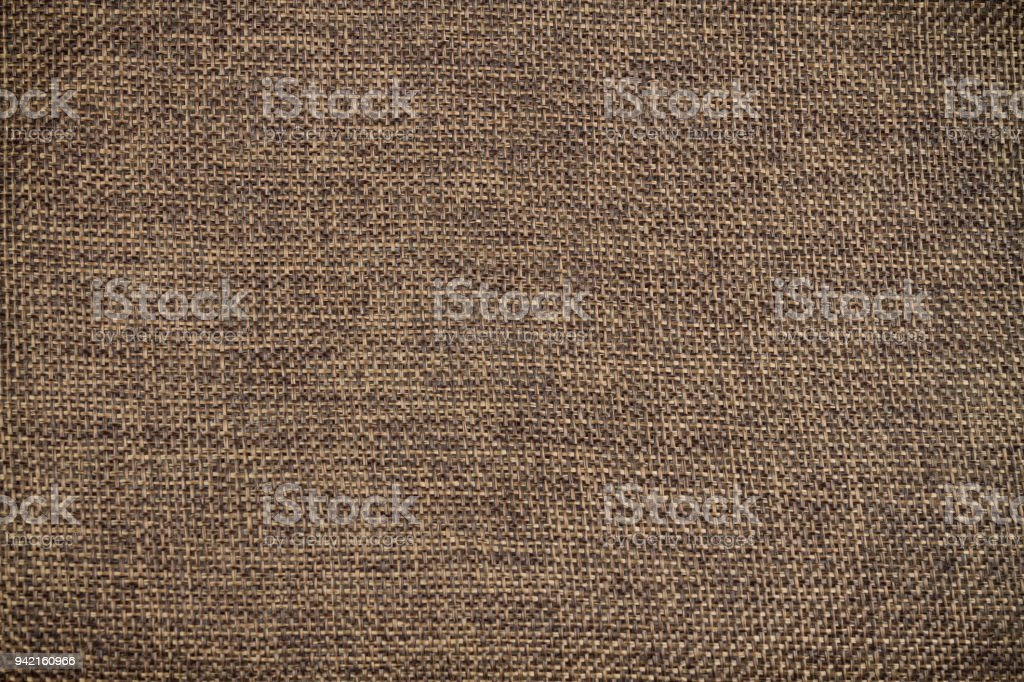Texture of dark brown calico. stock photo
