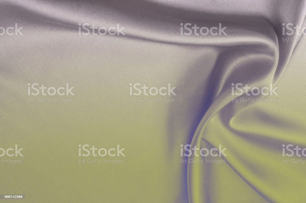 Texture of fabric background. Gray Blue silk fabric. Texture for the inscriptions. A fragment of an abstract background of luxurious fabrics or liquid waves or wavy folds of grunge textures of silk made of satin material - Foto stock royalty-free di Amore